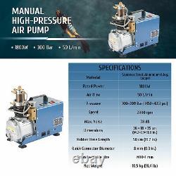1800W 1.8cfm Air Compressor Pump for Home Garage & Workshop Pneumatic Air Tools