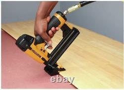 18Ga Pneumatic Stapler Gun Nailer Air Power Tool Bamboo Hard Wood Floor Board
