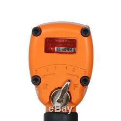1/2 Drive Mini Air Impact Wrench Set Pneumatic Repair Tool Max Torque 600ft/lb