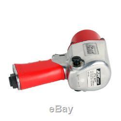 1/2 Inch Impact Wrench Pneumatic Air Gun Mechanic Air Tool Torque 460 ft/lbs