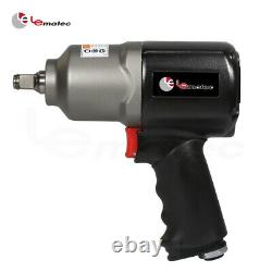 1/2 inch Air Impact Wrench Gun 660 ft/lbs Industry LEMATEC Pneumatic Tool