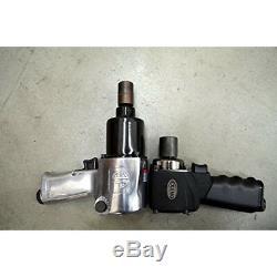 1/2in Drive Nano Impact Wrench 450FtLb Torque Air Power Pneumatic Tool Repair