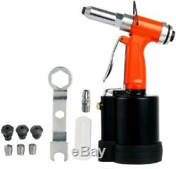 1/4'' Air Hydraulic Pop Rivet Gun Pneumatic Riveting Tool 1/8 5/32 3/16 1/4 New