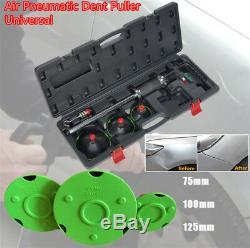 1/4 Air Pneumatic Dent Puller Car Body Repair Suction Pad Slide Hammer Tool Kit