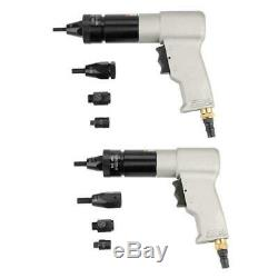 1/4 Pneumatic Riveting Gun Pull M6/M8/M10 Nut Automatic Air Rivet Nut Gun Tool