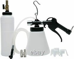 1.75L Pneumatic Brake Fluid Bleeder Pump Kit Tool Car Air Extractor Oil Bleeding