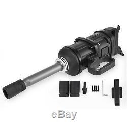 1 Air Impact Wrench 5800N. M Pneumatic Tool 8 Extended Anvil Commercial Truck