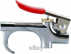 22pc Air Tool Accessory Kit Pneumatic Brass Compressor Hose Blow Gun Tool Set