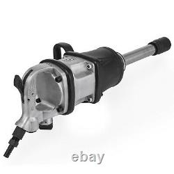 2800 ft. Lbs Air Impact Wrench 1 Drive Pneumatic Wrench Gun 8 Extended Anvil