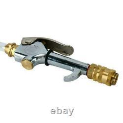 2 Way 6L Pneumatic ATF Oil Liquid Extractor +14Pcs Adapters / Refill Pump Set US