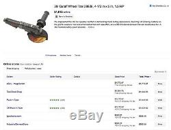 3M Heavy Duty 4-1/2 5 1.5HP Right Angle Air Pneumatic Cut off Wheel Tool $1249