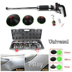 3X Air Pneumatic Dent Pullers Car Body Repair Suction Cup Slide Hammer Tool Kit