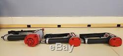 3 Craftsman Air Tools 18ga Brad Nailer, 18ga Crown Stapler, 16ga Finish Nailer