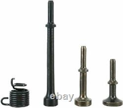4 Pcs Air Hammer Bits Accessories 0.401 Inch Shank Pneumatic Chisel Air Hammer