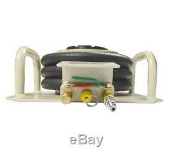 6600lbs/ 3 Ton Triple Bag Air Jack Pneumatic Air Bag Auto Repair Lifting Tool