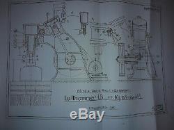 AIR PNEUMATIC BLACKSMITH POWERHAMMER BECHE ILSE WITH 65KG / 143 lbs mass drop