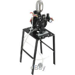AP8411, AIR POWERED DIAPHRAGM PUMP 1/4 7.5LPM, Aeropro Pneumatic Air Tools