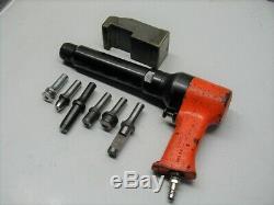 APT American Pneumatic Tool Big Bore 7x Rivet Gun Riveter Air Hammer