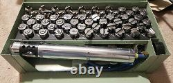ATI Pneumatic Air Cable Swager Tool Kit AT520JK Marine Aircraft Snap On ATI520JK