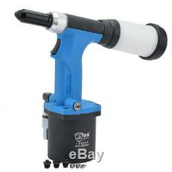 Air Hydraulic 1/4'' Rivet Gun Self Suction Pneumatic Riveter Riveting Tools