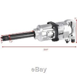 Air Impact Driver Heavy Duty Pneumatic Wrench Gun Truck Tools 1 Commercial Case