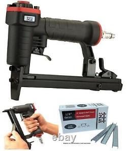 Air Pneumatic Staplers T50 Staple Gun Upholstery Wire Framing Fine Stapler Tool