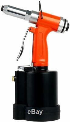 Air Riveter Pneumatic Pop Rivet Gun Riveter Tool 1/4 3/16 5/32 1/8 US SHIP