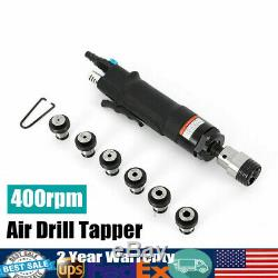 Air Tapper Pneumatic Tapping Machine Drill Tool 400 RPM With M3-M12 Chucks