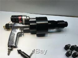 Aircraft CLECO DESOUTTER Pneumatic Auto Air Feed Drill Tool Kit 97845 HCU38
