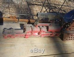Antique logging Saw Davey Experimental Pneumatic Air Crosscut Lumber timber