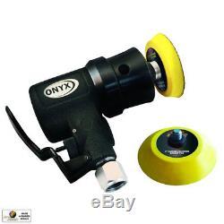 Astro Pneumatic 321 ONYX Micro 2 Random Orbit Sander-Hook & Loop-3mm Orbit New