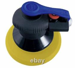 Astro Pneumatic ONYX Finishing Palm Sander 6 in with PSA backing pad 325P