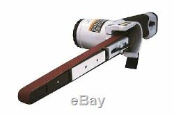 Astro Pneumatic Tool 3037 Air Belt Sander (1/2 x 18) with 3pc Belts #36, #