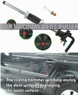 Auto Body Repair Air Pneumatic Dent Puller 3size Suction Cup Slide Tools Kit