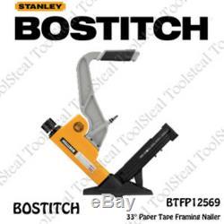 Bostitch BTFP12569 15.5 16G 2-IN-1 Pneumatic Flooring Nailer withFull Warranty