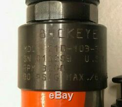 Buckeye / Cooper Tools 21D-103-38 Pneumatic Air Tool 0.4 hp Drill Pistol Grip