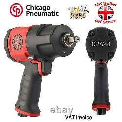 CHICAGO PNEUMATIC CP7748 Air Impact Wrench 1/2'' 1250Nm Powerful Lightweight