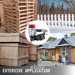 CN70 Coil Nailer 1-3/4 to 2-3/4 15 Degree Pneumatic Coil Roofing Siding Nailer