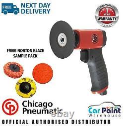 Chicago Pneumatic CP7202 2 & 3 Pistol Grip Roloc Pad Sander Smart Repair