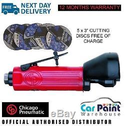 Chicago Pneumatic CP874 High Speed Cut Off Tool 75mm Air Disc Cutting 3