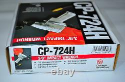 Chicago Pneumatic CP-724H 3/8Dr air Impact Wrench Made in Japan 200 FtLb CE Prf