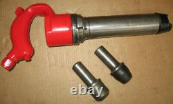 Chicago Pneumatic Hot Riveter CP-40R 3/8 to 5/8 Riveting + One 1/2 Button Set