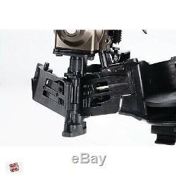Coil Roofing Pneumatic Nailer Gun Air Tools CCN45 7/8 To 1 3/4 15° Carpenter
