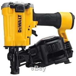 DEWALT 15 Degree Pneumatic Coil Roofing Nailer-DW45RN
