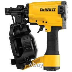 DeWALT DW45RN 1-3/4 TO 3/4-Inch 15 Degree Pneumatic Coil Roofing Nailer