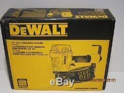 DeWALT DWF83C 3-1/4 15-Degrees Adjustable Pneumatic Coil Framing Nailer NISB FS