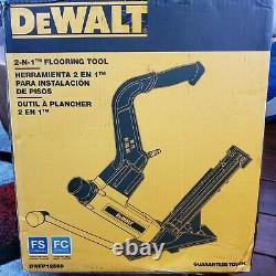 DeWalt 2-in-1 Pneumatic 15.5-Gauge and 16-Gauge Flooring Tool DWFP12569