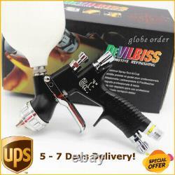 Devilbiss GTI PRO LITE Black TE20 1.3mm Nozzle Car Paint Tool Pistol Spray Gun