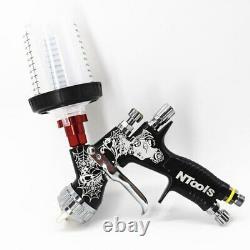 Devilbiss Gti Pro Lite Spray Gun BLACK 1.3 TE20 Car Paint Tool Pistol Spray
