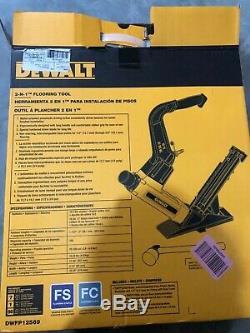 Dewalt Flooring Nailer Air Tool Pneumatic Mallet DWFP12569 DEWALT PLUS EXTRAS